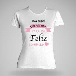 camiseta personalizada para despedida de soltera mujer