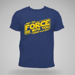 Camiseta azul personalizada forc day