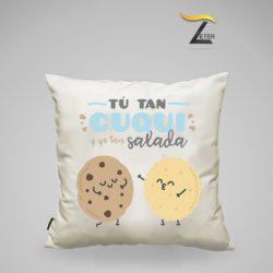 Cojín Personalizado galletas