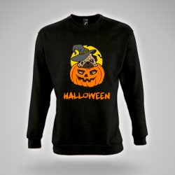 sudadera negra calabaza Halloween