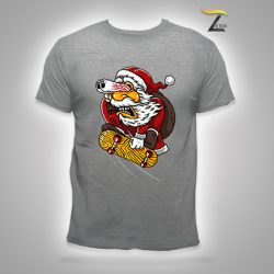 Camiseta Gris Santaskaters