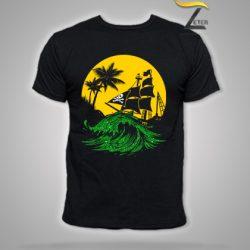 Camiseta verano hombre en Negro