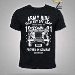 Camiseta Army Ride Nagra